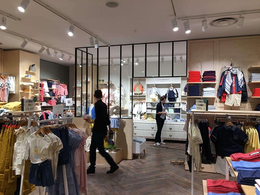 Arrangement Of Fashion Stores Clothing Store Designer