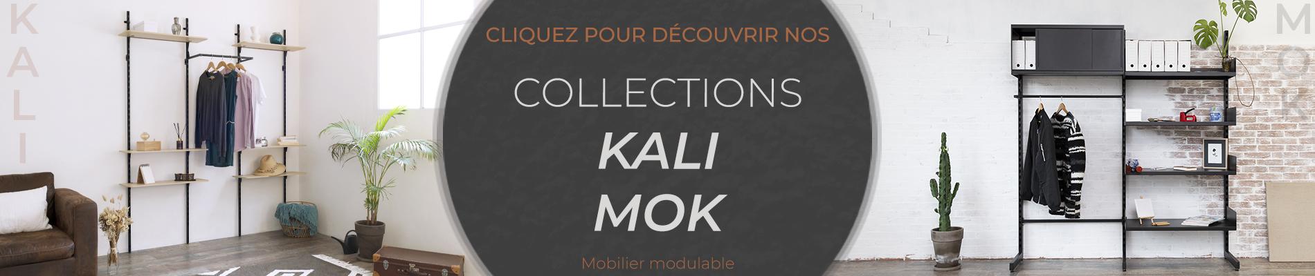 Mobilier modulaire MOK et KALI by SHOP CONCEPT & SERVICES